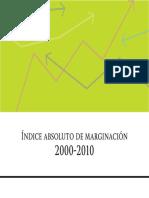 Conapo Indices de MarginacionIAM 00-04