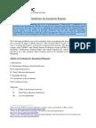 UNODC-IEU Inception Report Guidelines