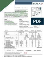 Spezifikation HALA TPC Z PC