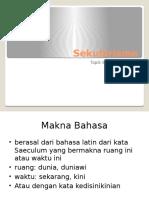 Topik 6 Sekularisme