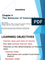 ECO551 C4 the Behavior of Interest Rate Edit