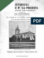 Istoria Bis Madona Dudu Craiova