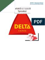 Guest Speaker - Delta