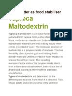 Malto Dextrin (1)