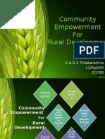 communityempowermentforruraldevelopement-sameerathilakarathna-161008042200