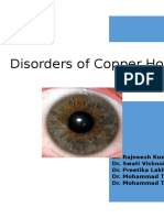 Disorders of Copper Homeostasis and Homoeopathy