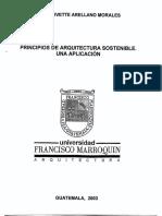 Tesis Aplicacion de Arquitectura Sostenible