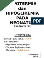8. Hipoglikemia & Hipotermia Neonatus