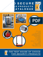 Sold Secure 2016 Approved Product Catalogue