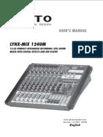 Alto Lynx Mix124UM
