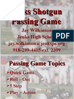 Jenks High School Passing Game