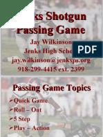 Jenks High School Passing Game