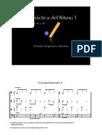 LA PRÁCTICA DEL RITMO 1 (Lecciones 49 a 54)