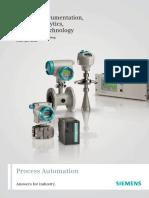 Process Instrumentation, Process Analytics, Weighing Technology 2008