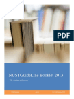 NUST Guideline Booklet 2013.pdf