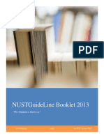 NUST Guideline Booklet 2013.pdf