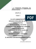 90699-Tema 7 Acto Administrativo