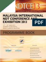 2 MINDTCE13 Programme Book
