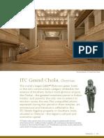 Enjoy Warm Indian Hospitality in Chennai at the ITC Grand Chola