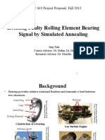 Locating Faulty Rolling Element Bearing Signal by Simulated Annealing
