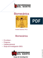 1 Introduccion a La Biomecanica