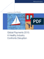 Global Payments 2015 a Healthy Industry Confronts Disruption
