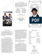 Larry Darnell Godfrey lFuneral Program