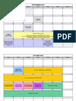 Calendario Consejos Escolares 2016