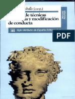 282956373 Manual de Tecnicas de Terapia y Modificacion de Conducta