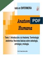 T 1 Generalidades