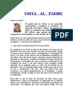 Entrevista Al Padre Rivas