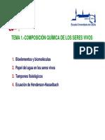Tema1(i) Bioelementos y Biomoleculas 2013