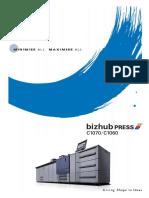 Bizhub Press C1070 C1060 Catalog e