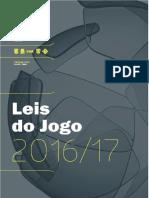 Leis Do Jogo 2016-17