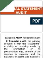 Financial Statement Audit Rica