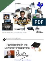 2011 Robert Owen University Programme