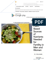Plant-Based Sources of Nutrients Needed for Fertility in Men and Women _ One Green Planet
