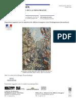 Exposition L'Art de La Paix au Petit Palais