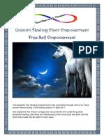Unicorn Healing Elixir Empowerment REV 2016