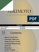 Mikimoto Presentation (Marketing)