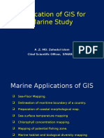 Application of GIS for Marine Study