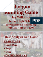 Jenks High School Shotgun Run