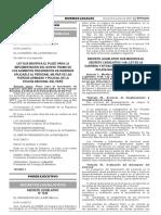 Decreto Legislativo que modifica el Decreto Legislativo 1149 Ley de la Carrera y Situación del Personal de la Policía Nacional del Perú