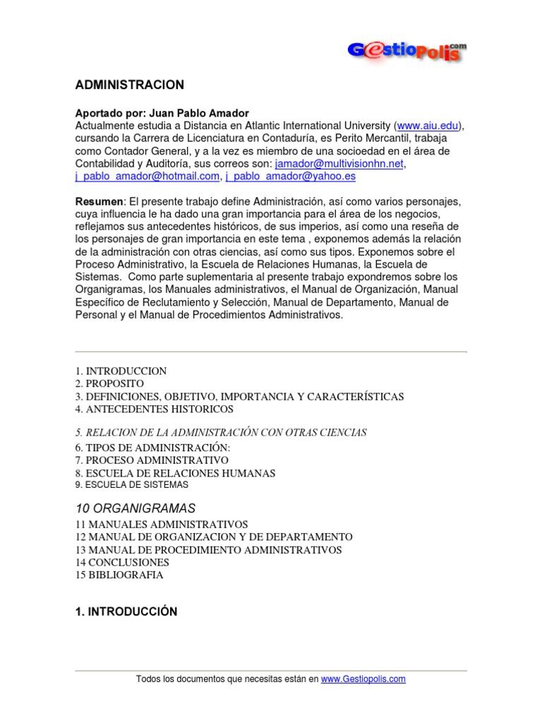 016 - Administracion JP AMADOR