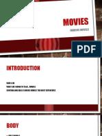 Movies Speech