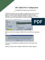 Setting Up Cisco UCS Port Guide