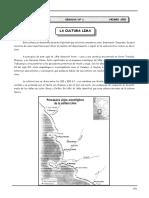 1ero. Año - HP - Guía Nº 1 - La Cultura Lima