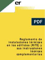 Manual Instalaciones Termicas en Edificios ISOVER