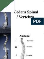 Cedera Spine Spinalcord