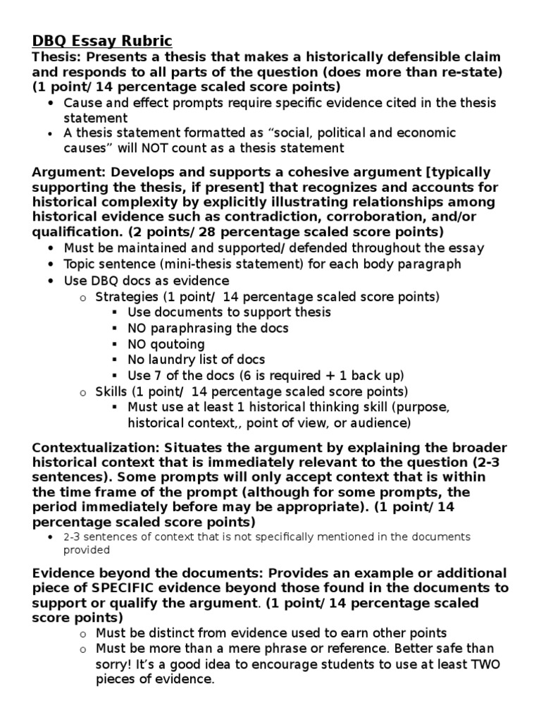 dbq 2003 essay example Dbq/frq essay writing guide how the exam works the apush exam consists of two parts part 1 is the 80 question multiple choice section in which you have 55 minutes.